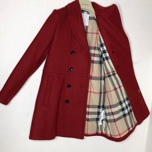Authentic Burberry girl coat